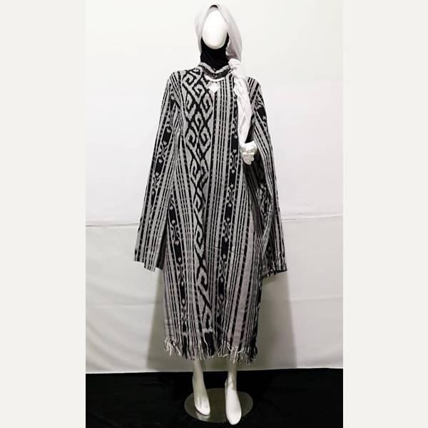 Dress Wanita Tenun Nagita2