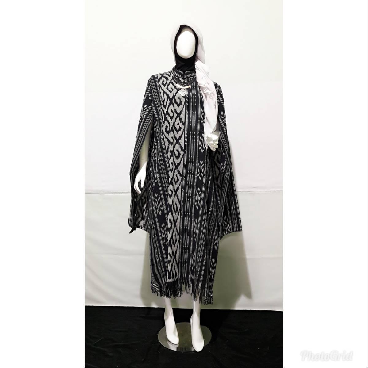 Dress Wanita Tenun Nagita3