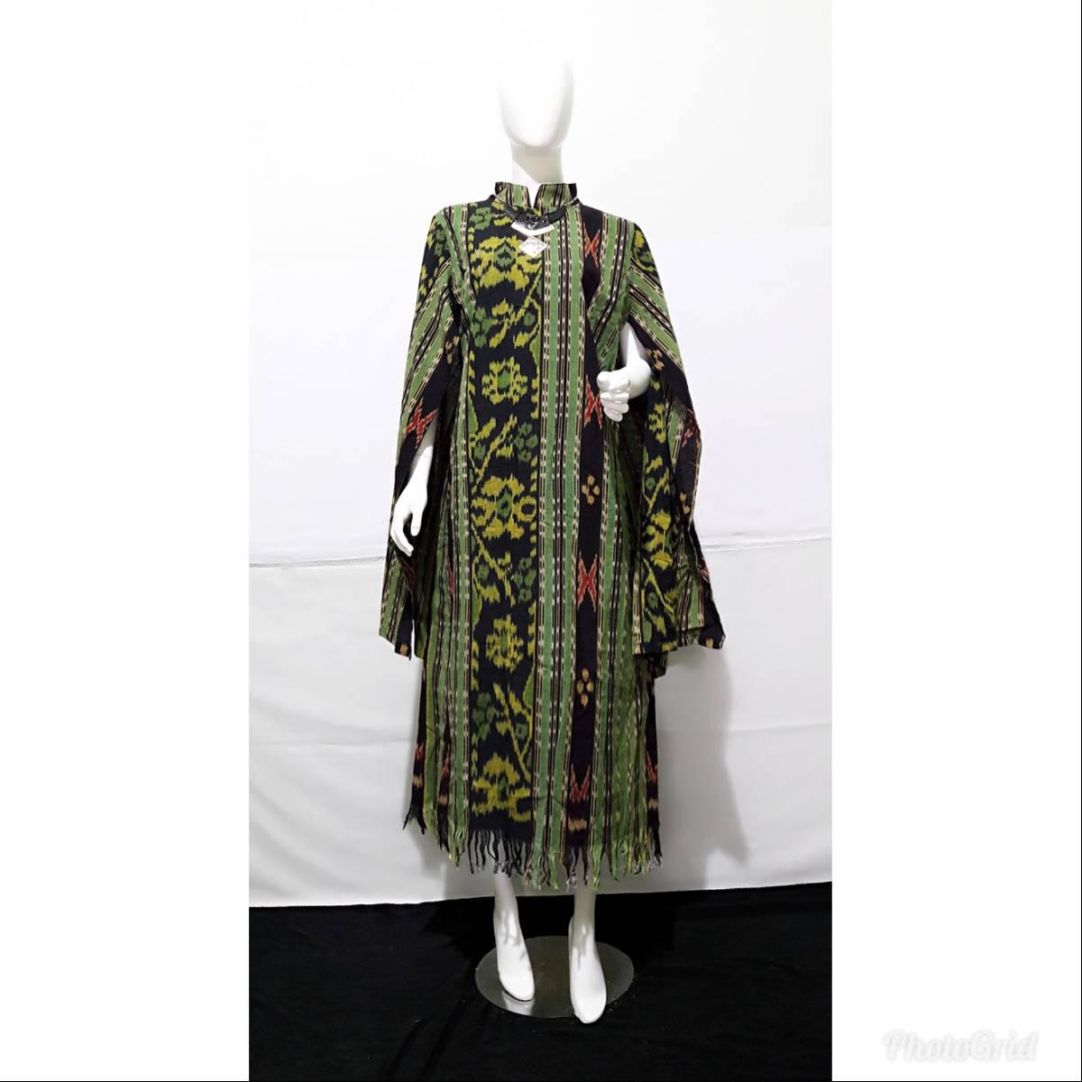 Dress Wanita Tenun Nagita4