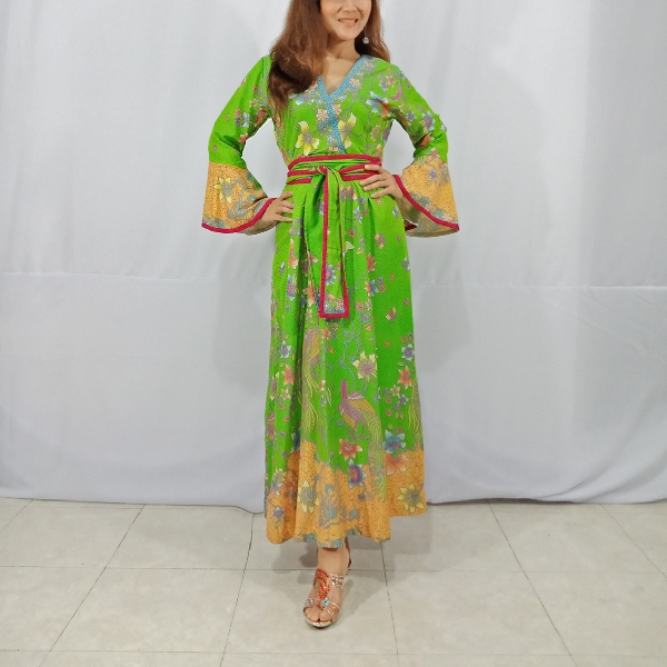 Ratu Ayu Batik, Dobi Long Dress2