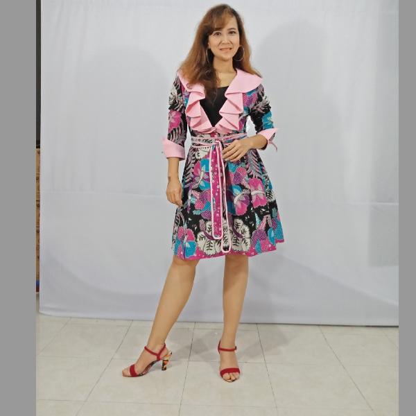 Ratu Ayu Batik, Katun Cardigan Rample