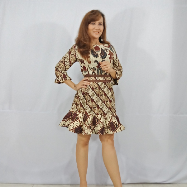 Ratu Ayu Batik, Katun Dress Parang