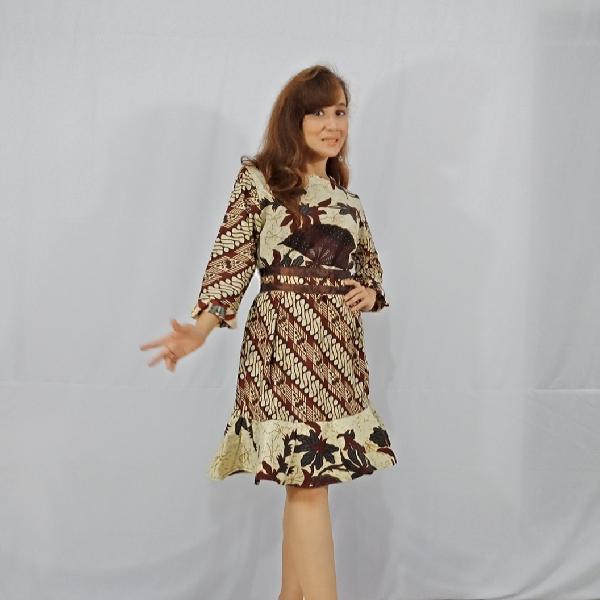 Ratu Ayu Batik, Katun Dress Parang1