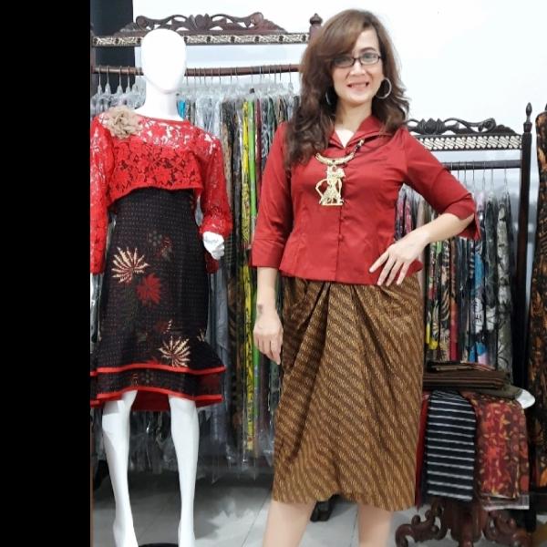 Setelan Batik Princes Klasik1