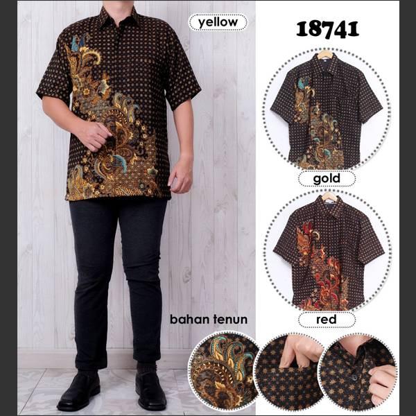 Batik Pria Atbm 18741 Lengan Pendek0