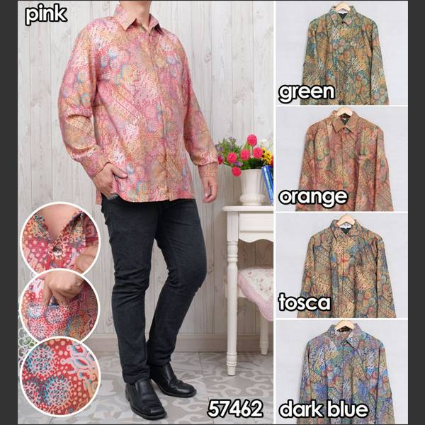 Batik Pria Atbm 57462 Lengan Panjang