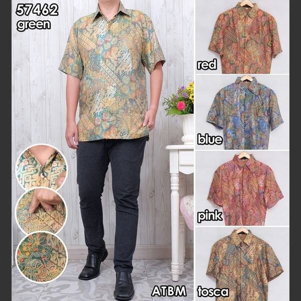 Batik Pria Atbm 57462 Lengan Pendek