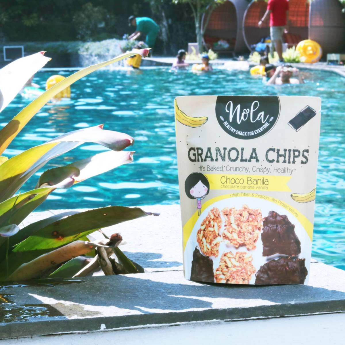 Nola Granola Chips Choco Banila 100 Gr