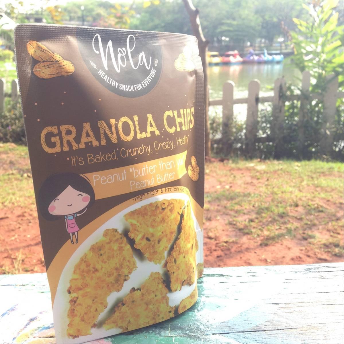 Nola Granola Granola Chips Peanut Butter 100 Gr3