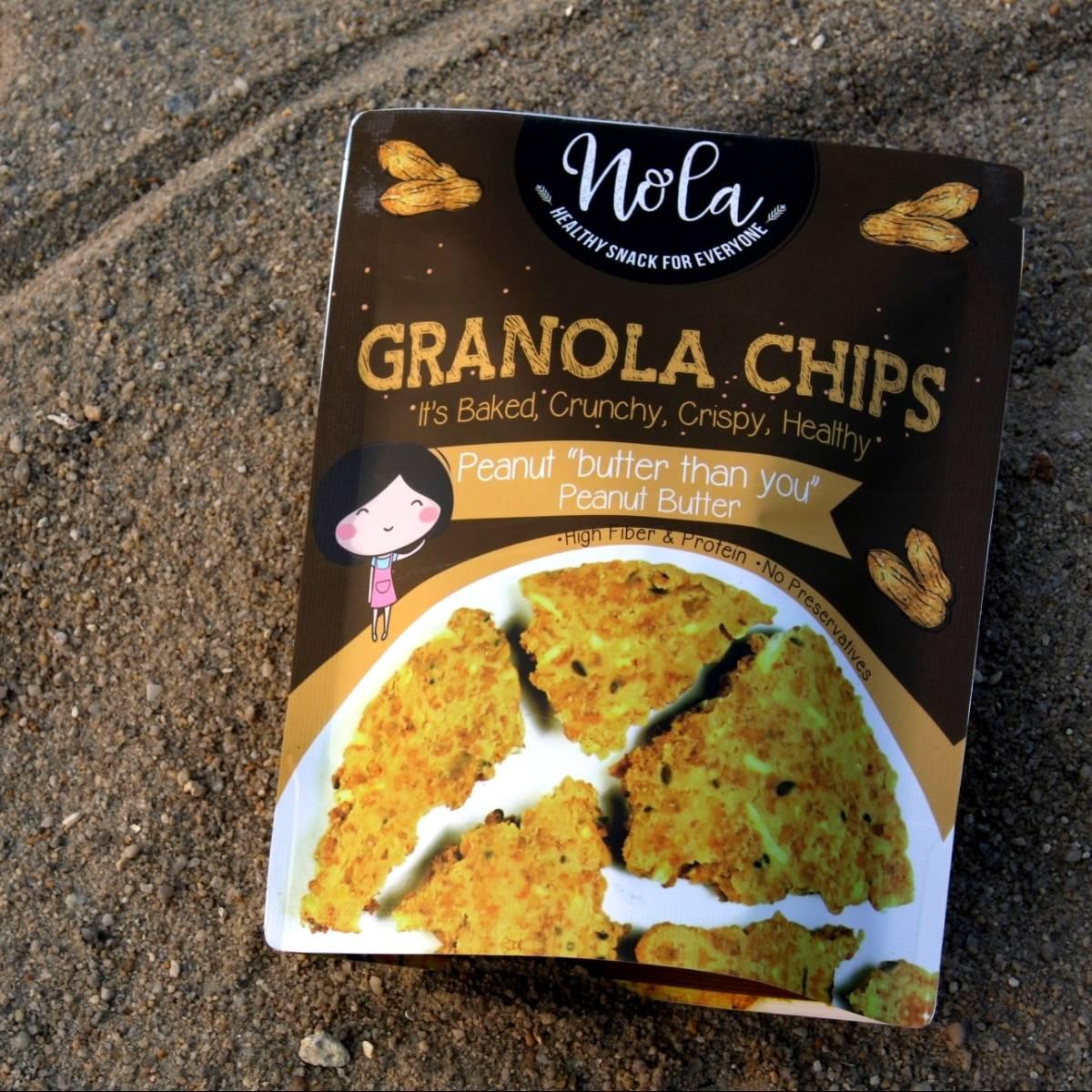 Nola Granola Granola Chips Peanut Butter 100 Gr4