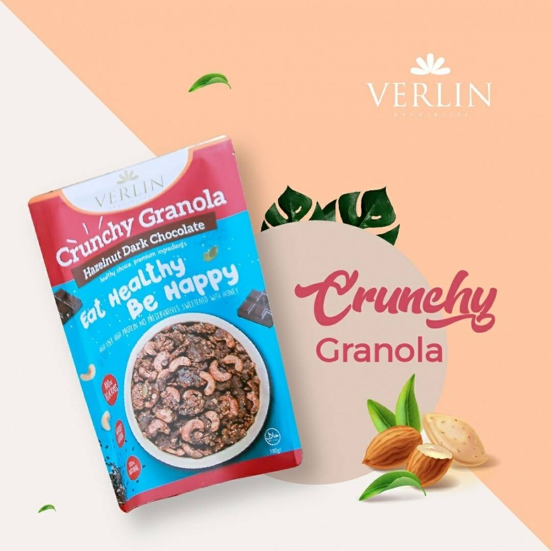 Crunchy Granola Hazelnut Dark Chocolate1