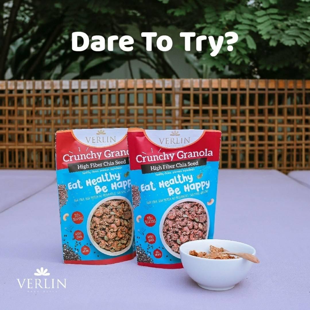 Crunchy Granola High Fiber Chia Seed