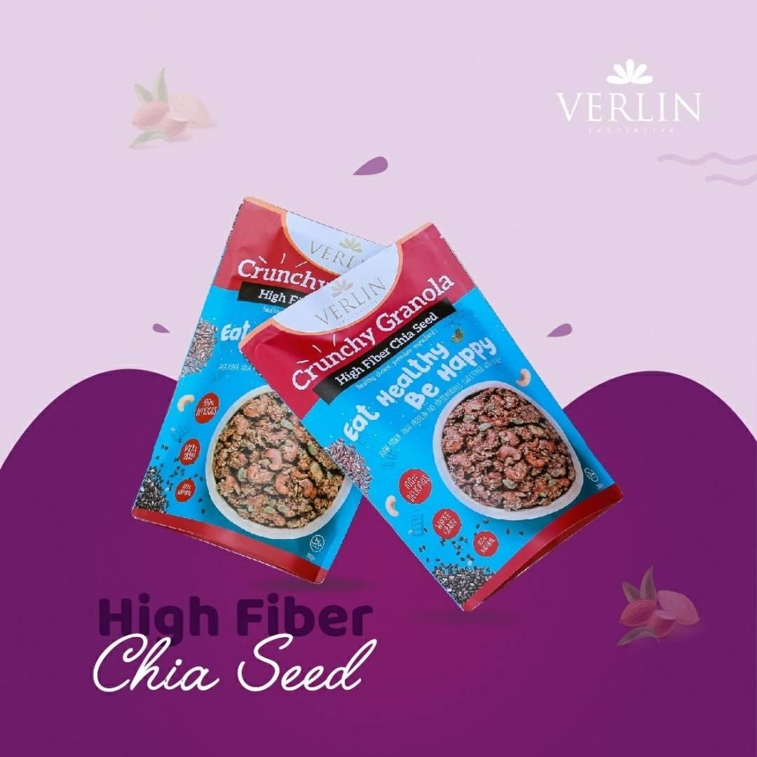 Crunchy Granola High Fiber Chia Seed3