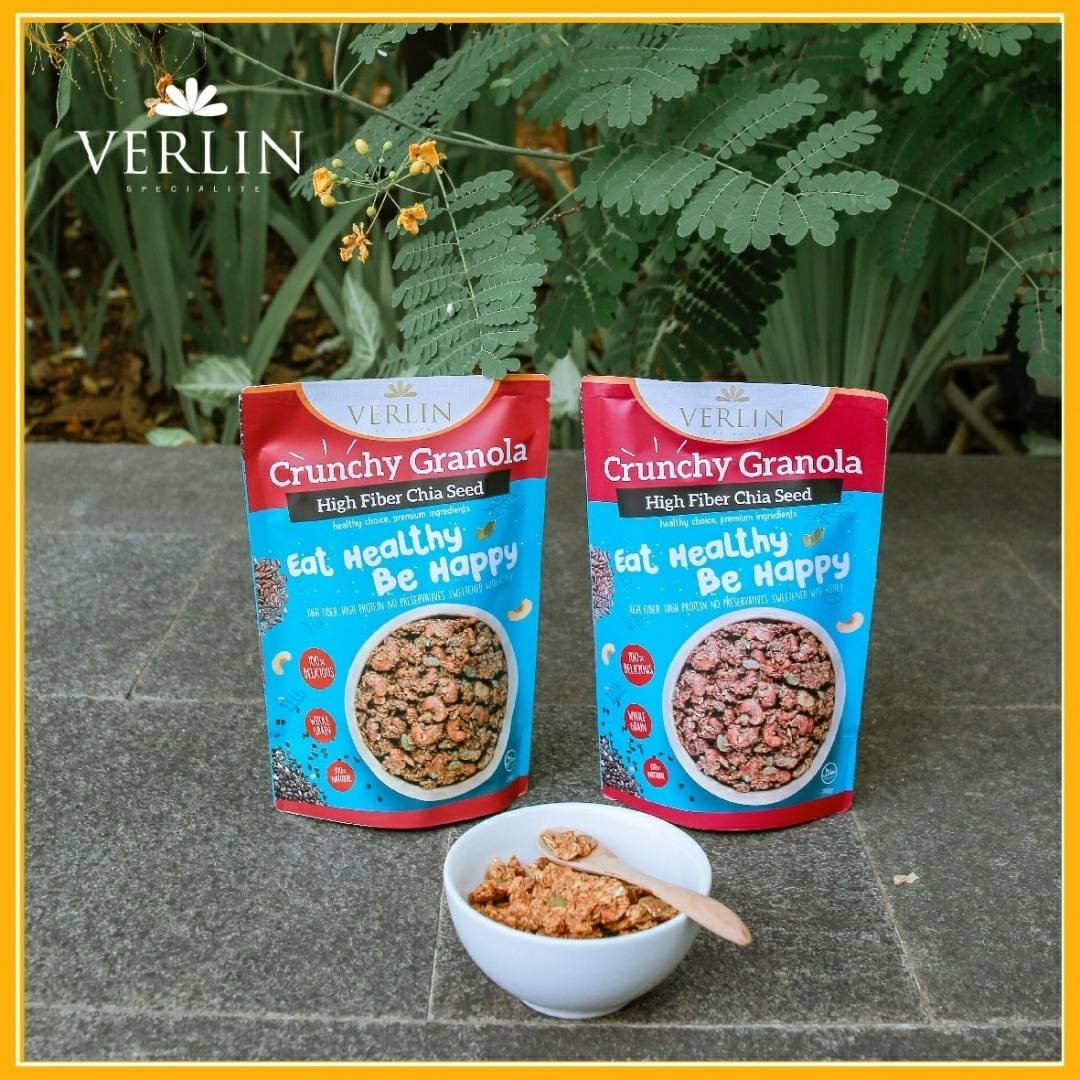 Crunchy Granola High Fiber Chia Seed4