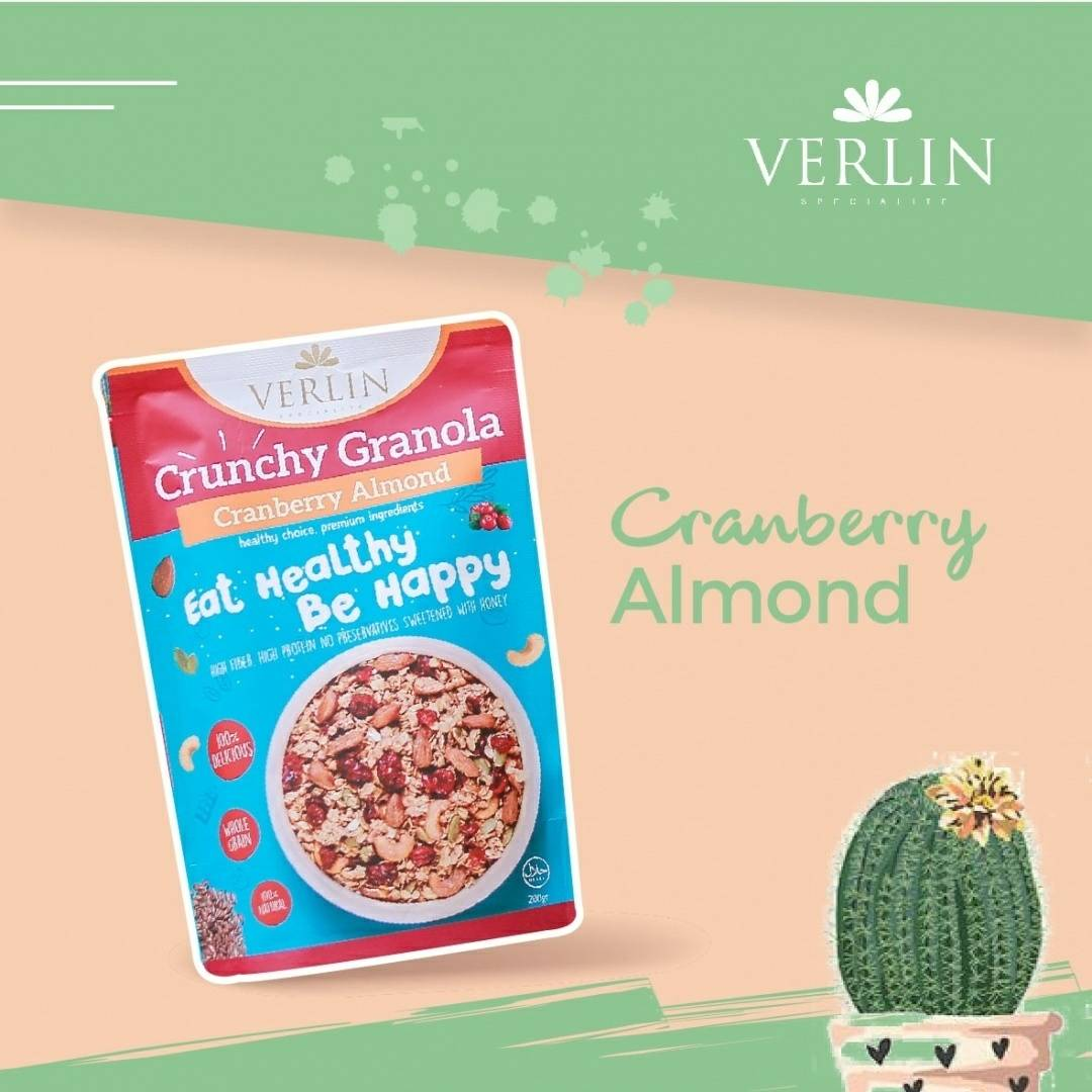 Crunchy Granola Cranberry Almond1