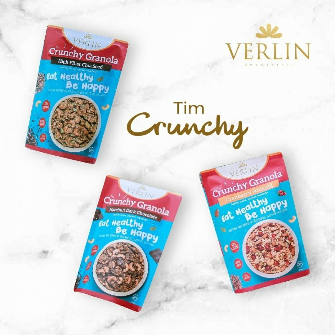 Crunchy Granola Cranberry Almond2