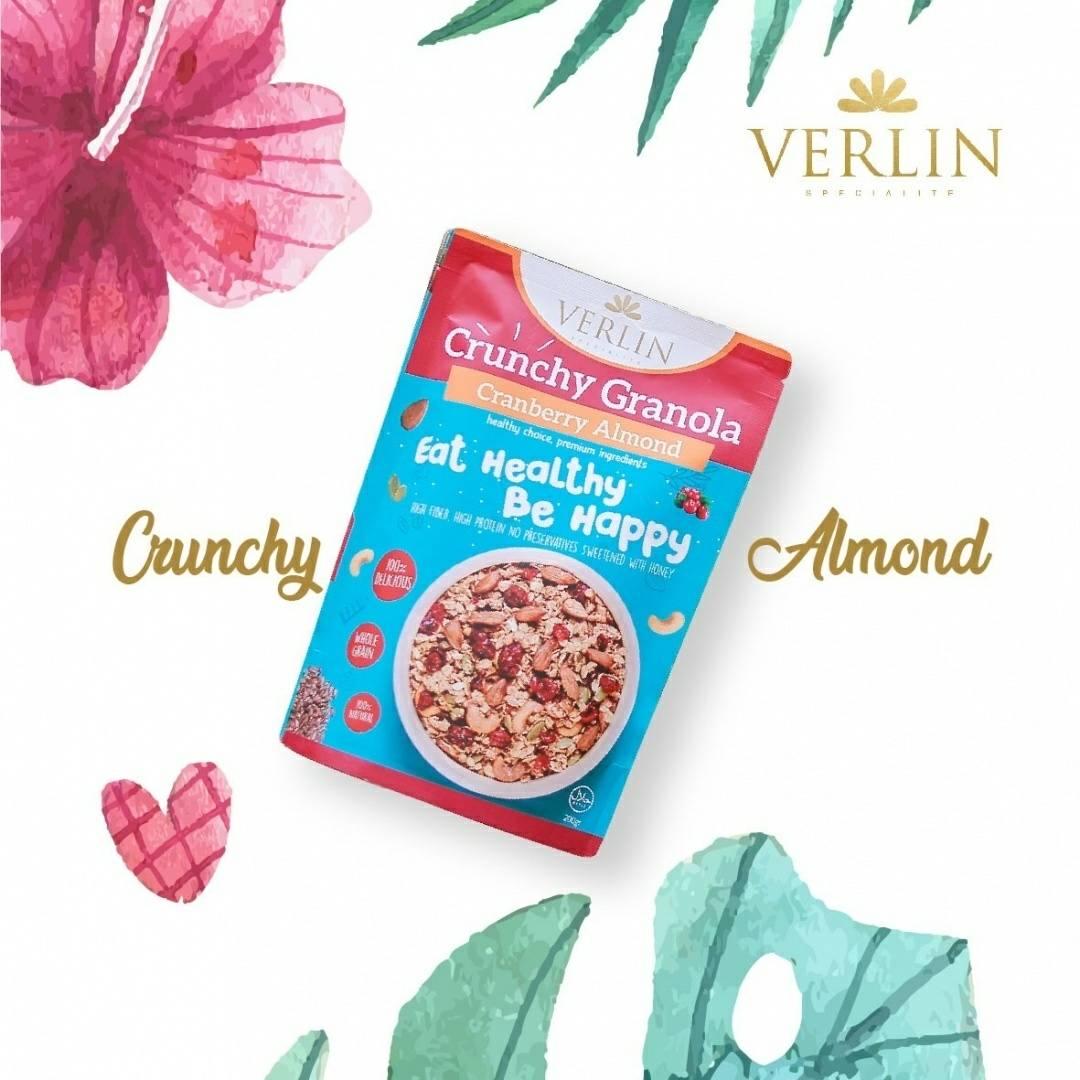 Crunchy Granola Cranberry Almond3