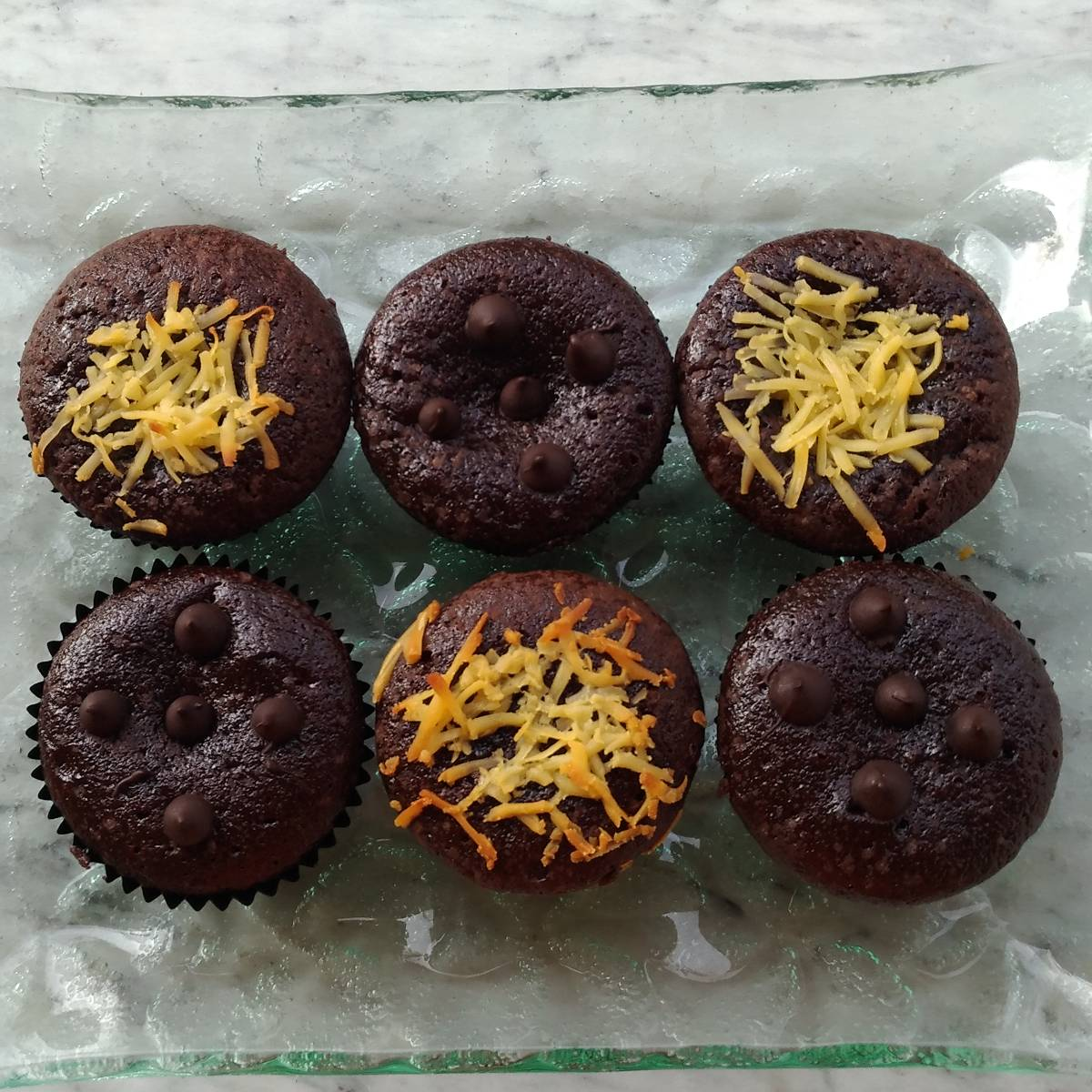 Brownies Cupcake (paket 6 Pieces)