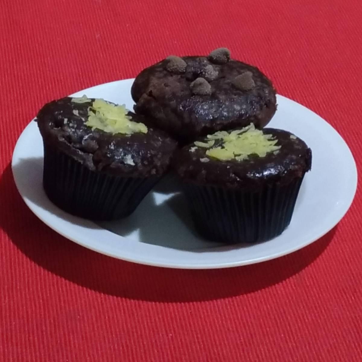 Brownies Cupcake (paket 3 Pieces)1