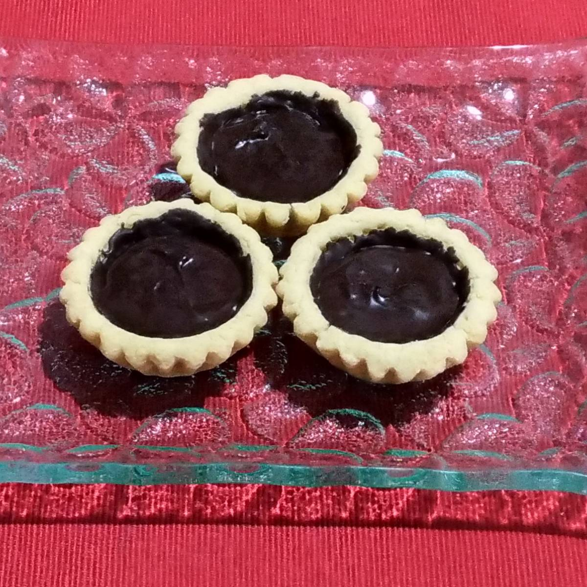 Mini Pie Coklat Original Crust (paket 3 Pieces)