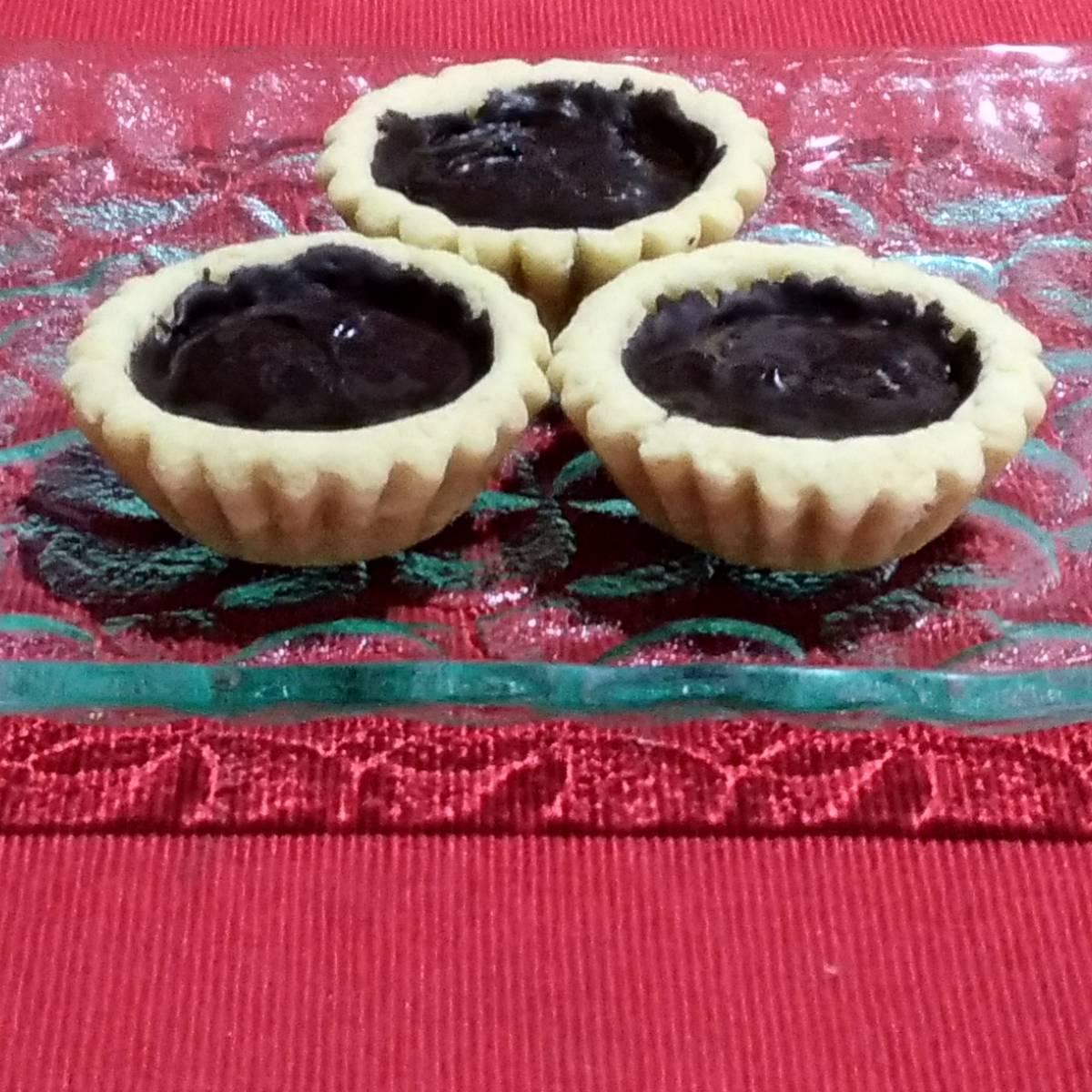 Mini Pie Coklat Original Crust (paket 3 Pieces)1