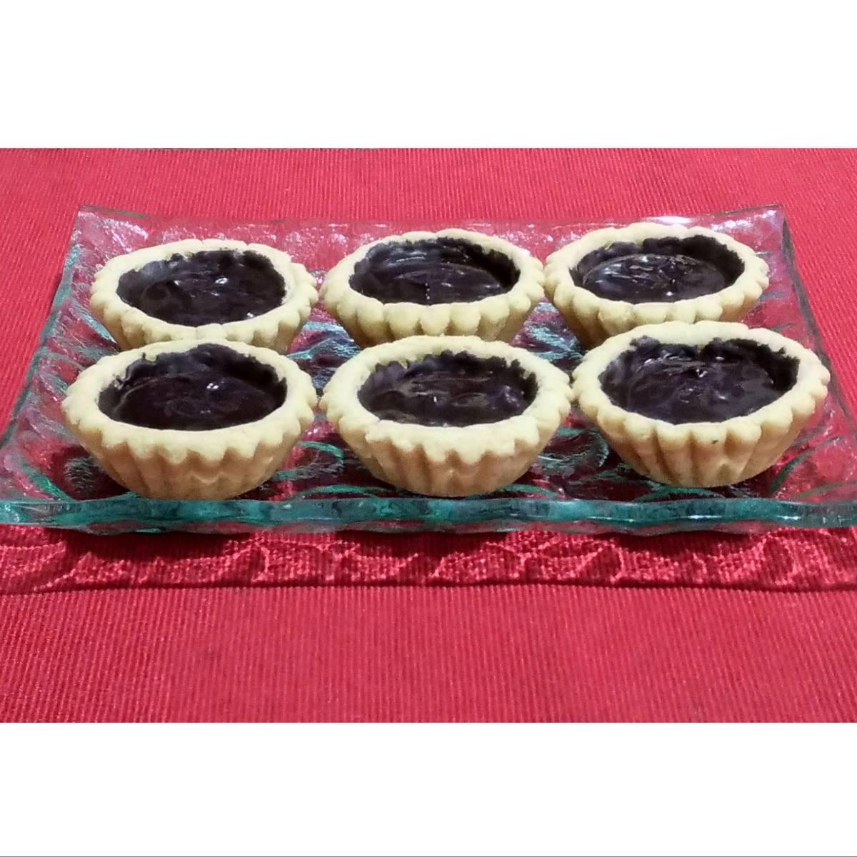 Mini Pie Coklat Original Crust (paket 6 Pieces)2