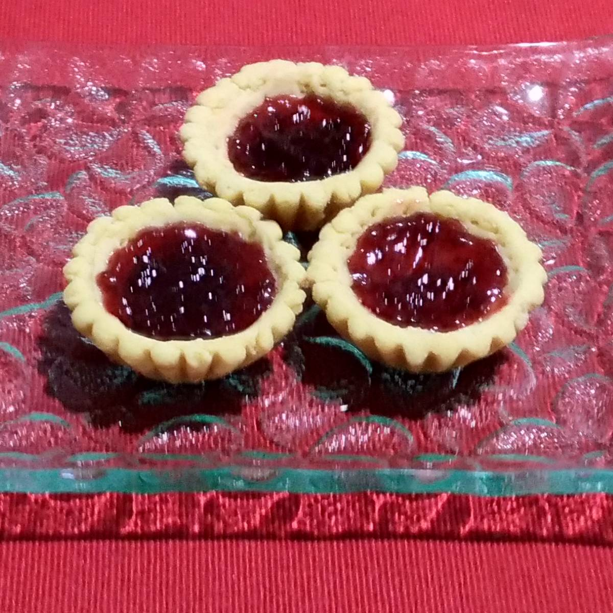 Mini Pie Strawberry Original Crust (paket 3 Pieces)