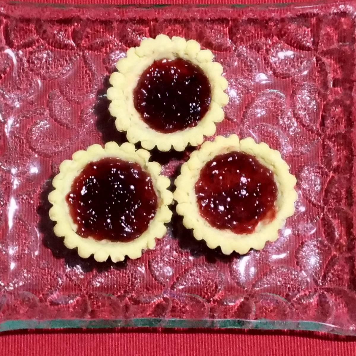 Mini Pie Strawberry Original Crust (paket 3 Pieces)1