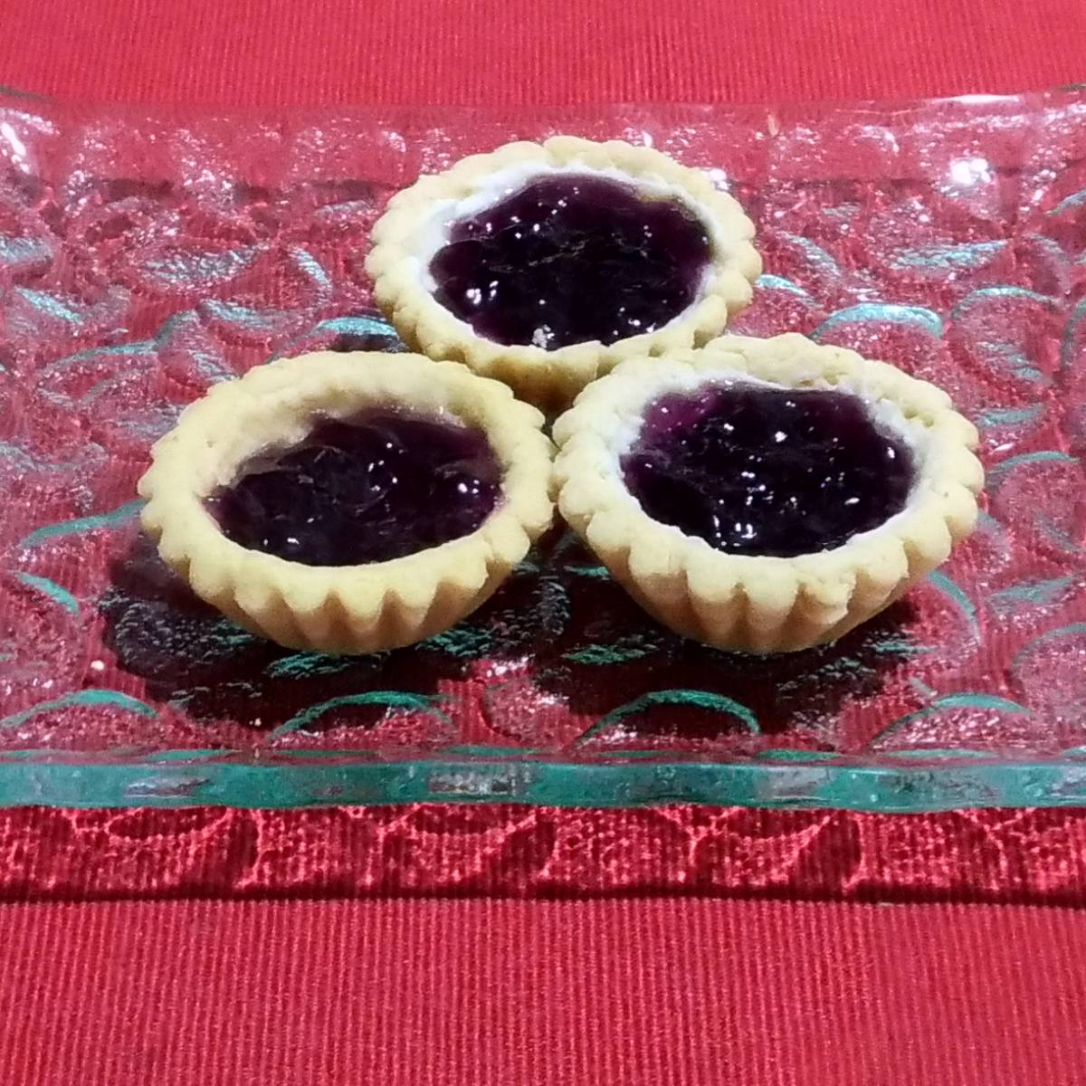 Mini Pie Blueberry Original Crust (paket 3 Pieces)