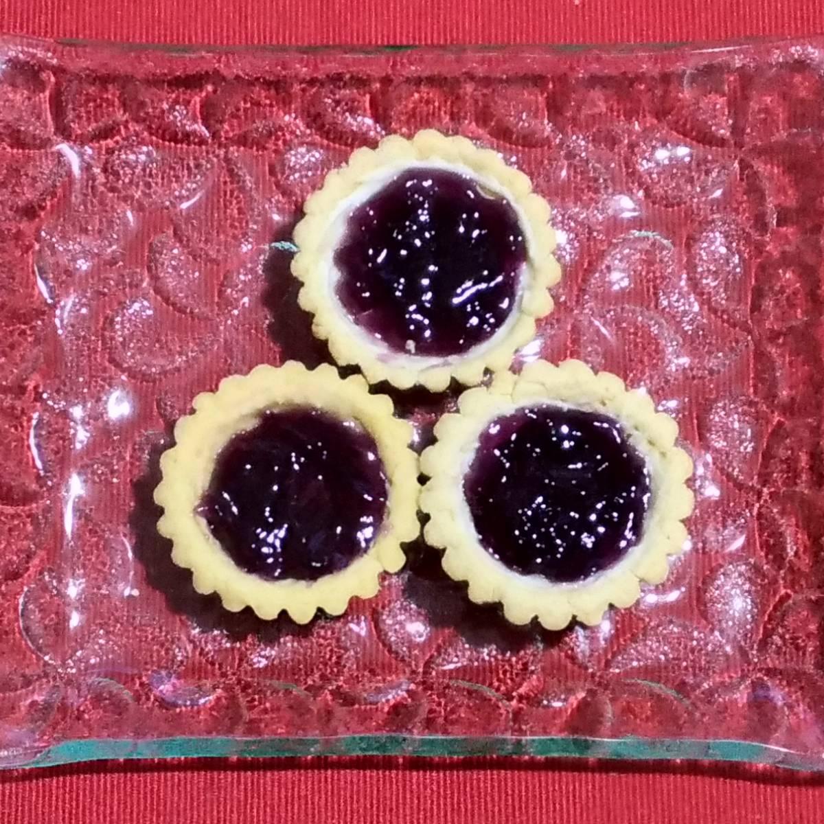 Mini Pie Blueberry Original Crust (paket 3 Pieces)1