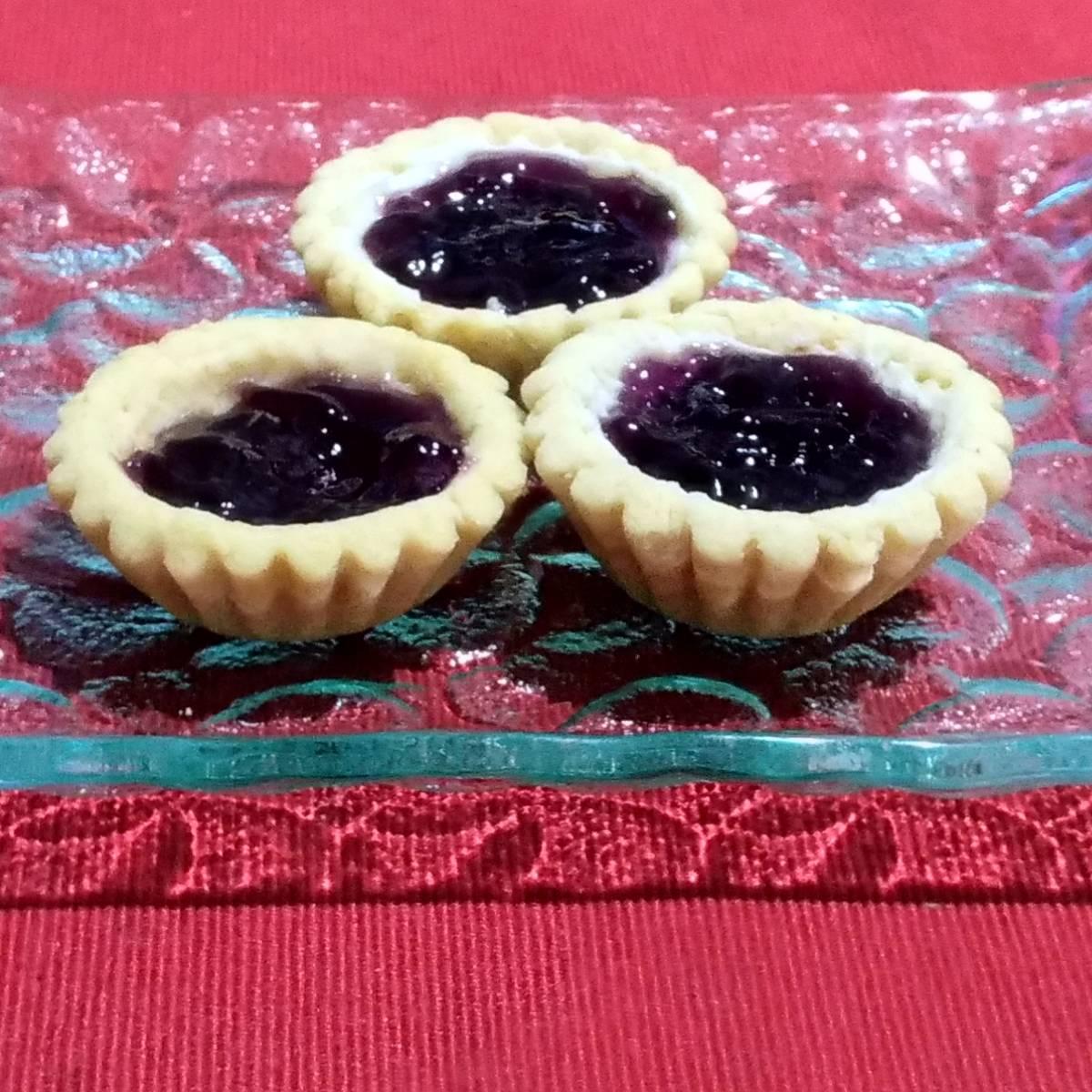 Mini Pie Blueberry Original Crust (paket 3 Pieces)2