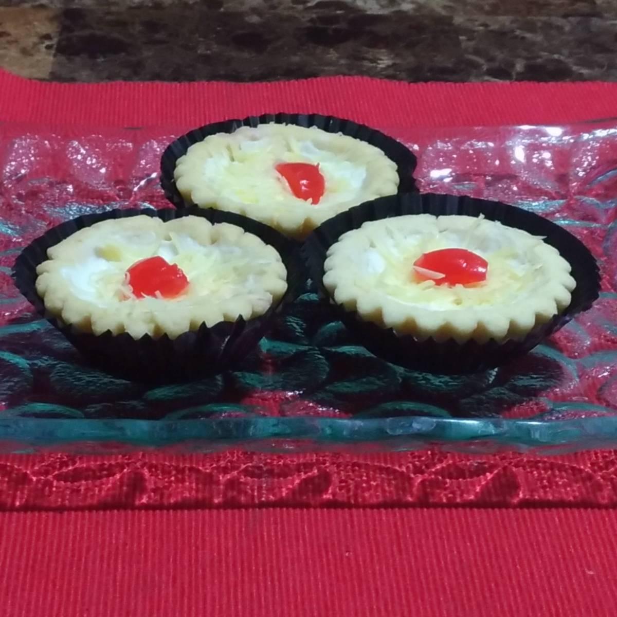 Mini Pie Cheese Cherry Original Crust(paket 3 Pieces)3