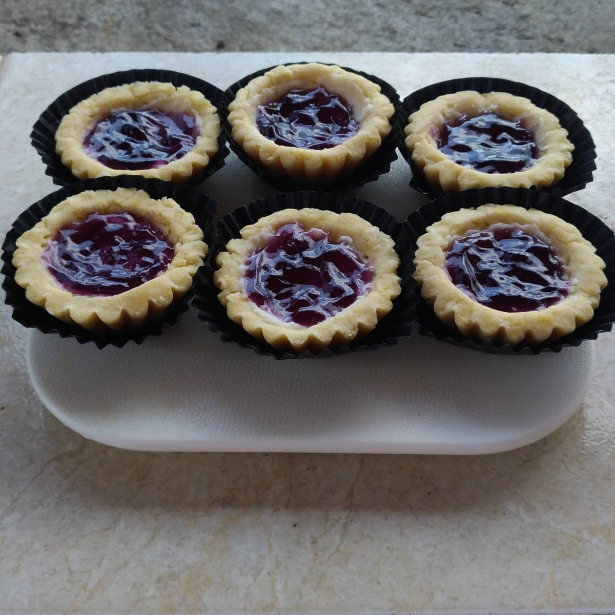 Mini Pie Blueberry Original Crust(paket 6 Pieces)