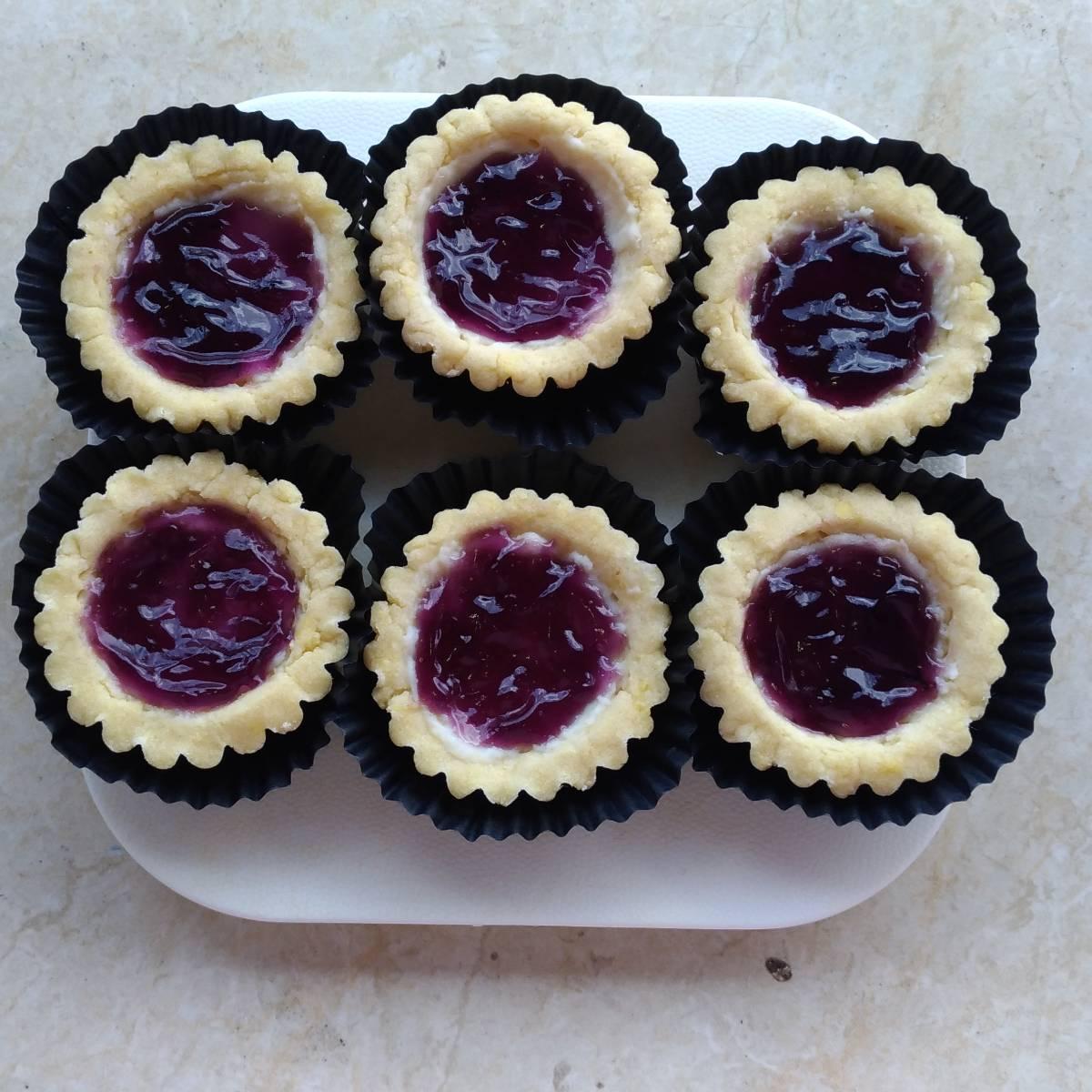Mini Pie Blueberry Original Crust(paket 6 Pieces)1