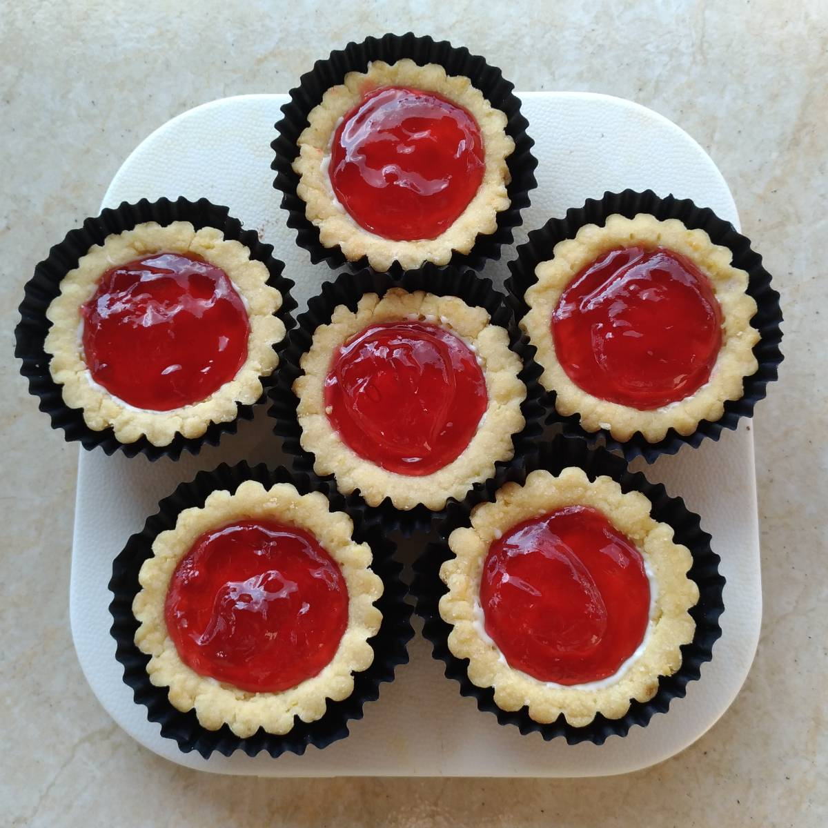 Mini Pie Strawberry Original Crust (paket 6 Pieces)