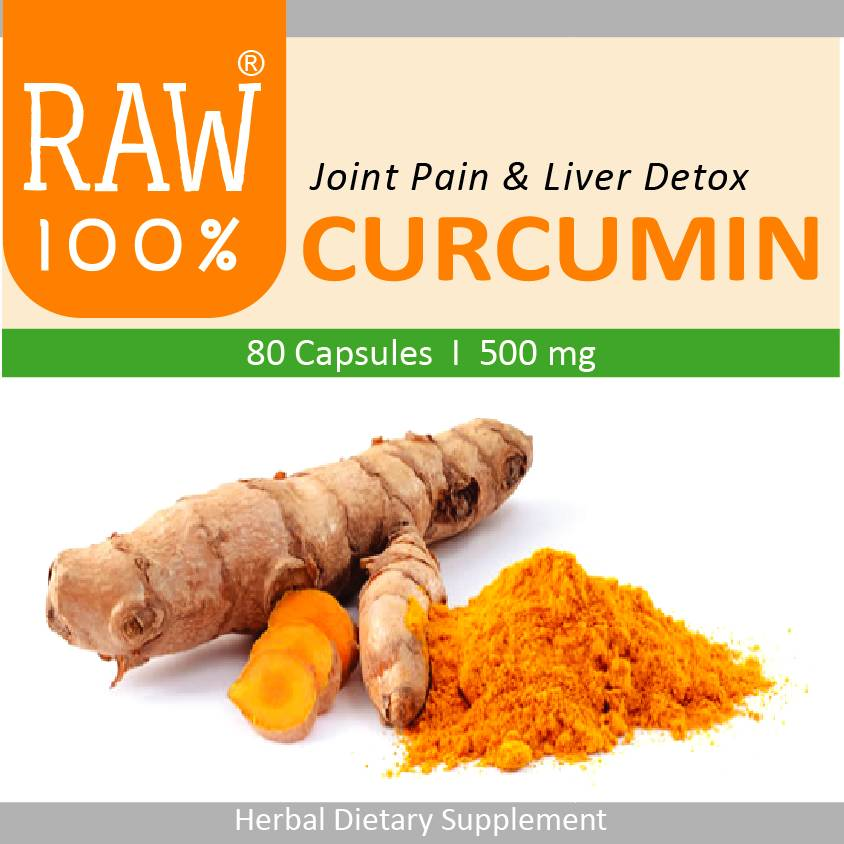 Raw100 - Curcumin / Joint Pain & Liver Detox