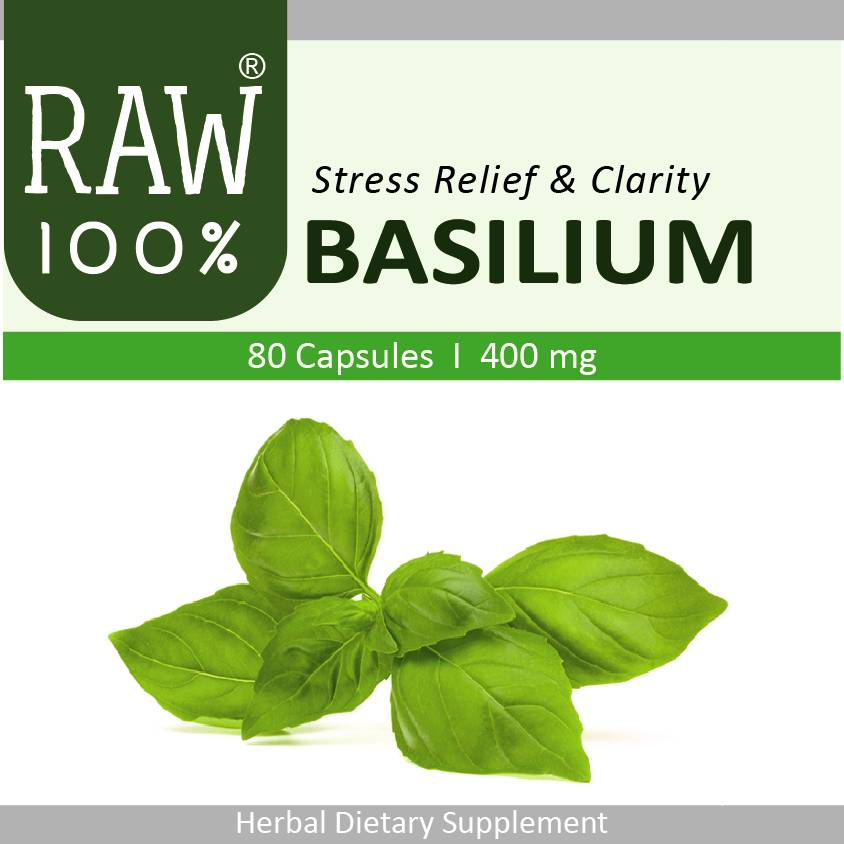 Raw100 - Basilium / Stress Relief & Mental Clarity
