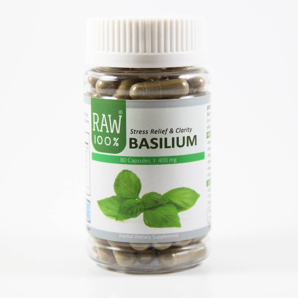 Raw100 - Basilium / Stress Relief & Mental Clarity1