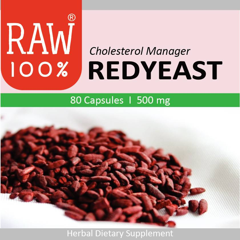 Raw100 - Redyeast / Cholesterol Manager