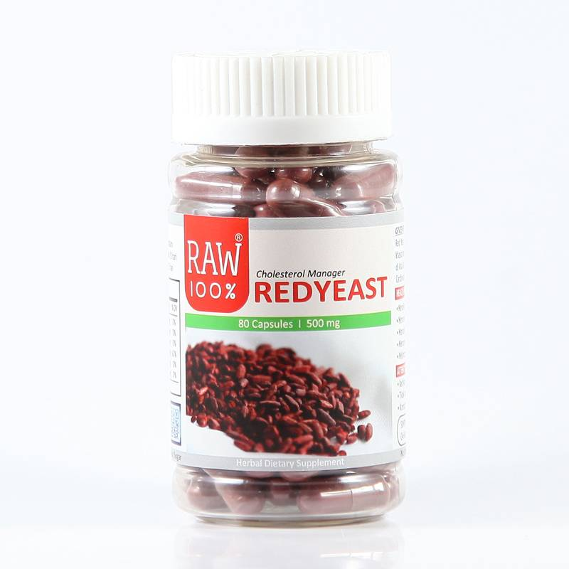 Raw100 - Redyeast / Cholesterol Manager1