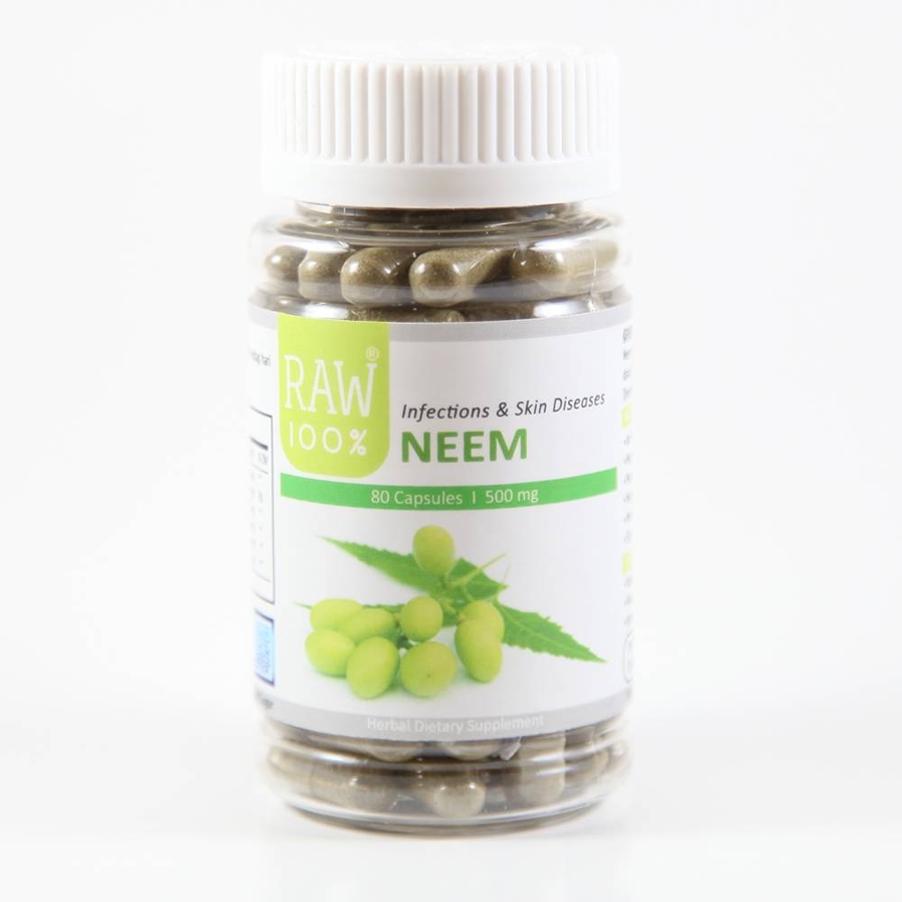Raw100 - Neem / Skin Diseases & Infections1
