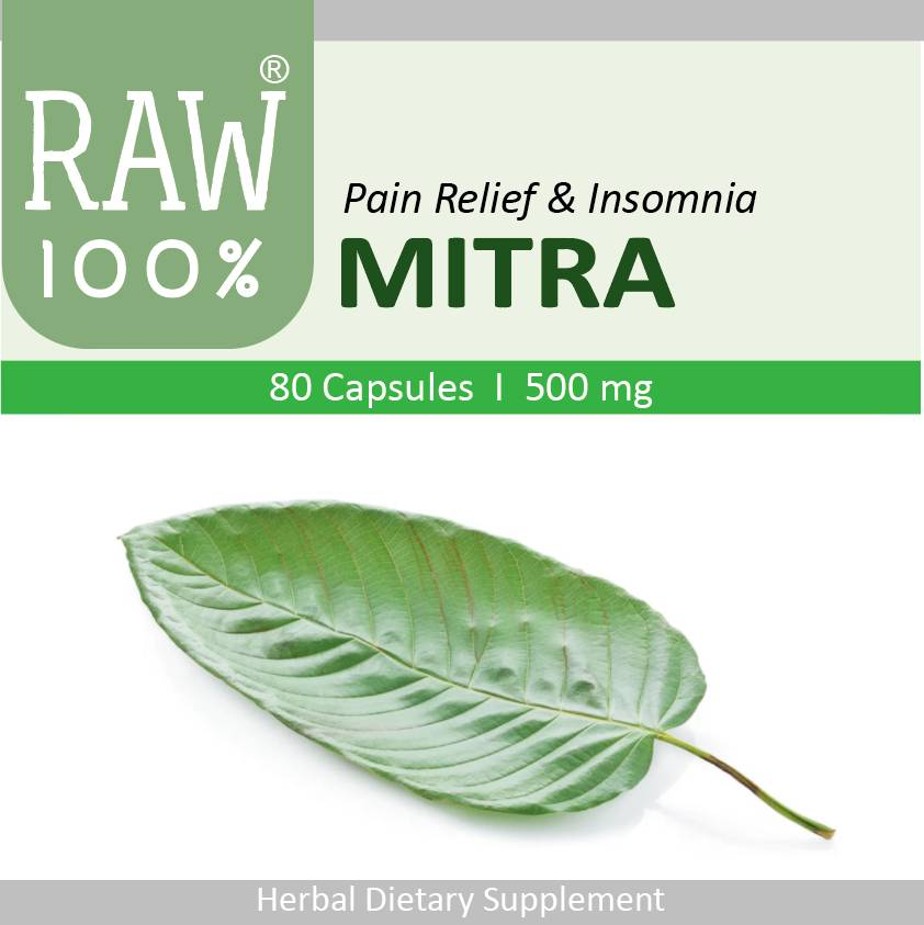 Raw100 - Mitra / Pain Relief & Insomnia