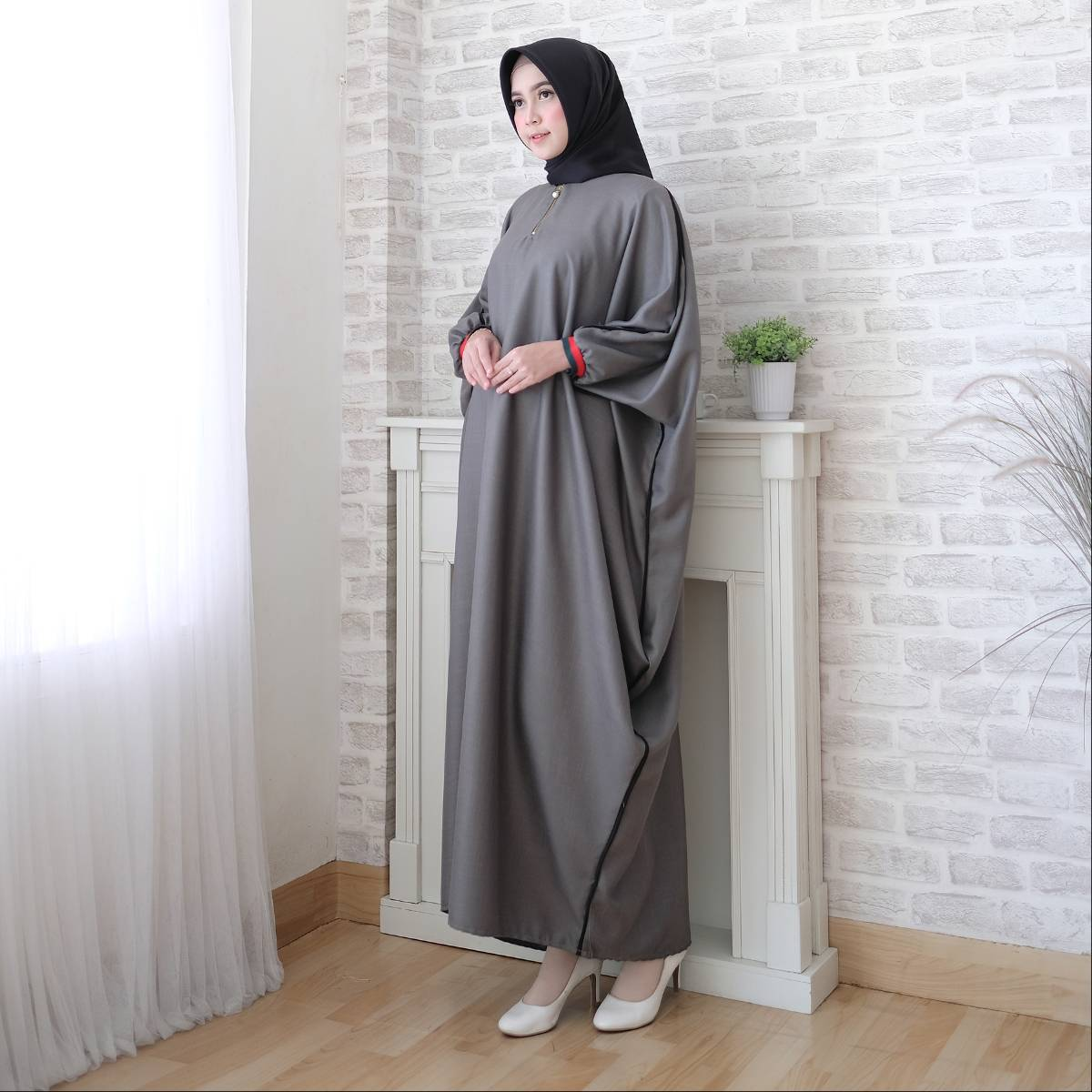 Gamis Muslim Kaftan Toyusin Tys 6241