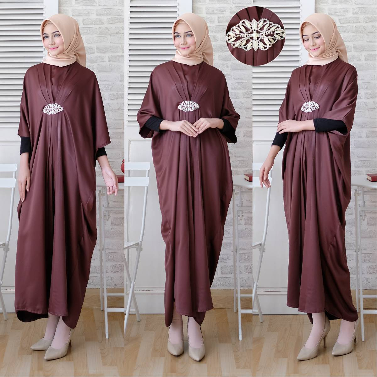 Gamis Kaftan Toyusin Tys 627