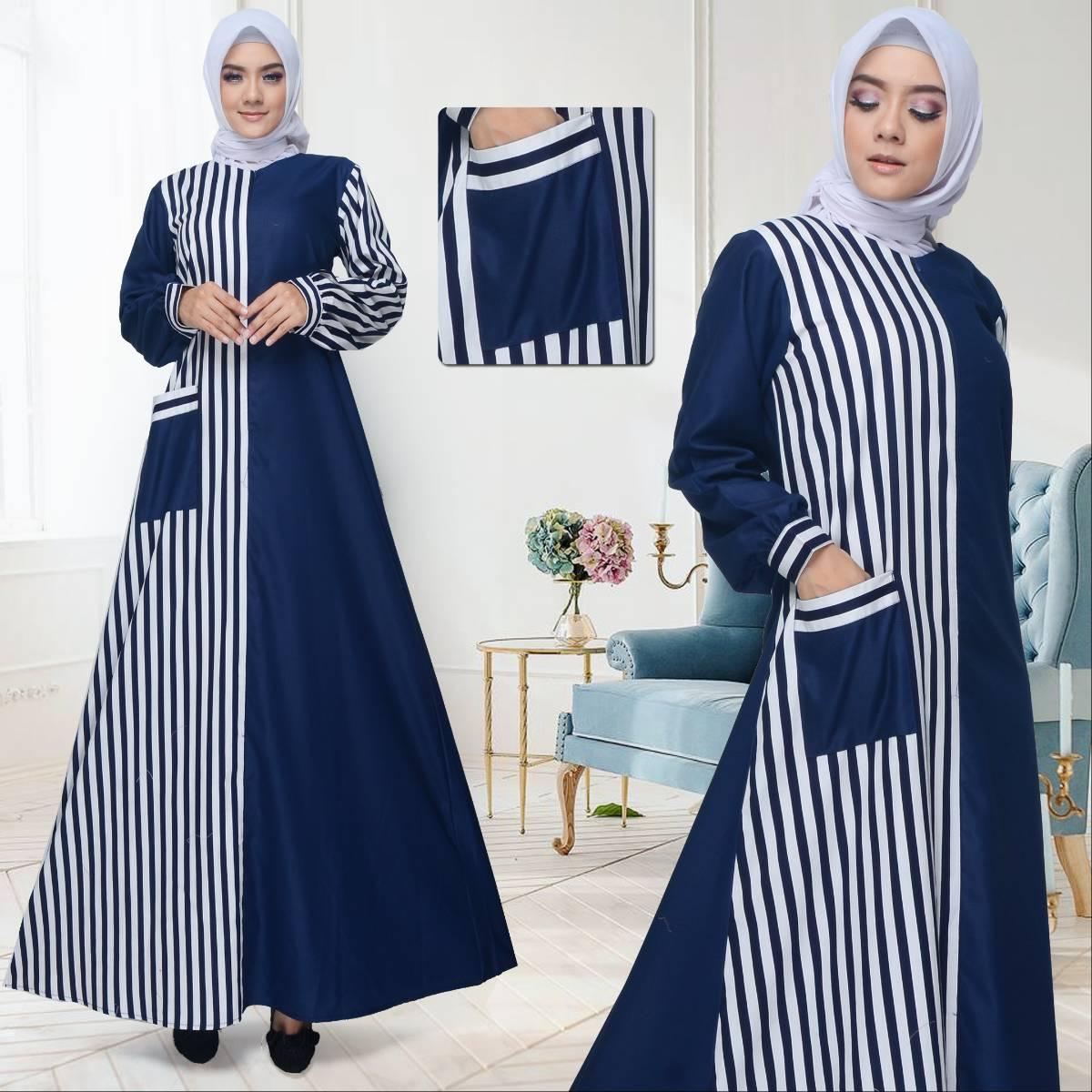Gamis Simple muslim toyusin TYS 675