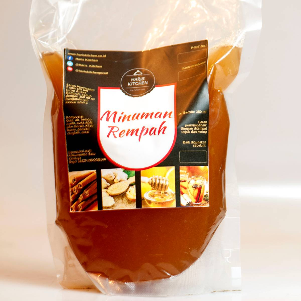 Minuman Rempah (sirop) Pouch