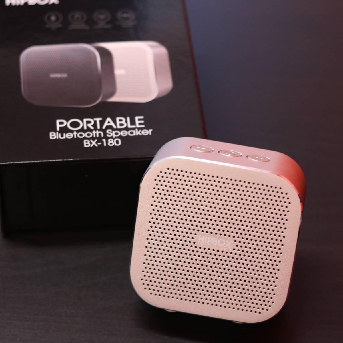 Hip Box Bluetooth Speaker Bx-1803