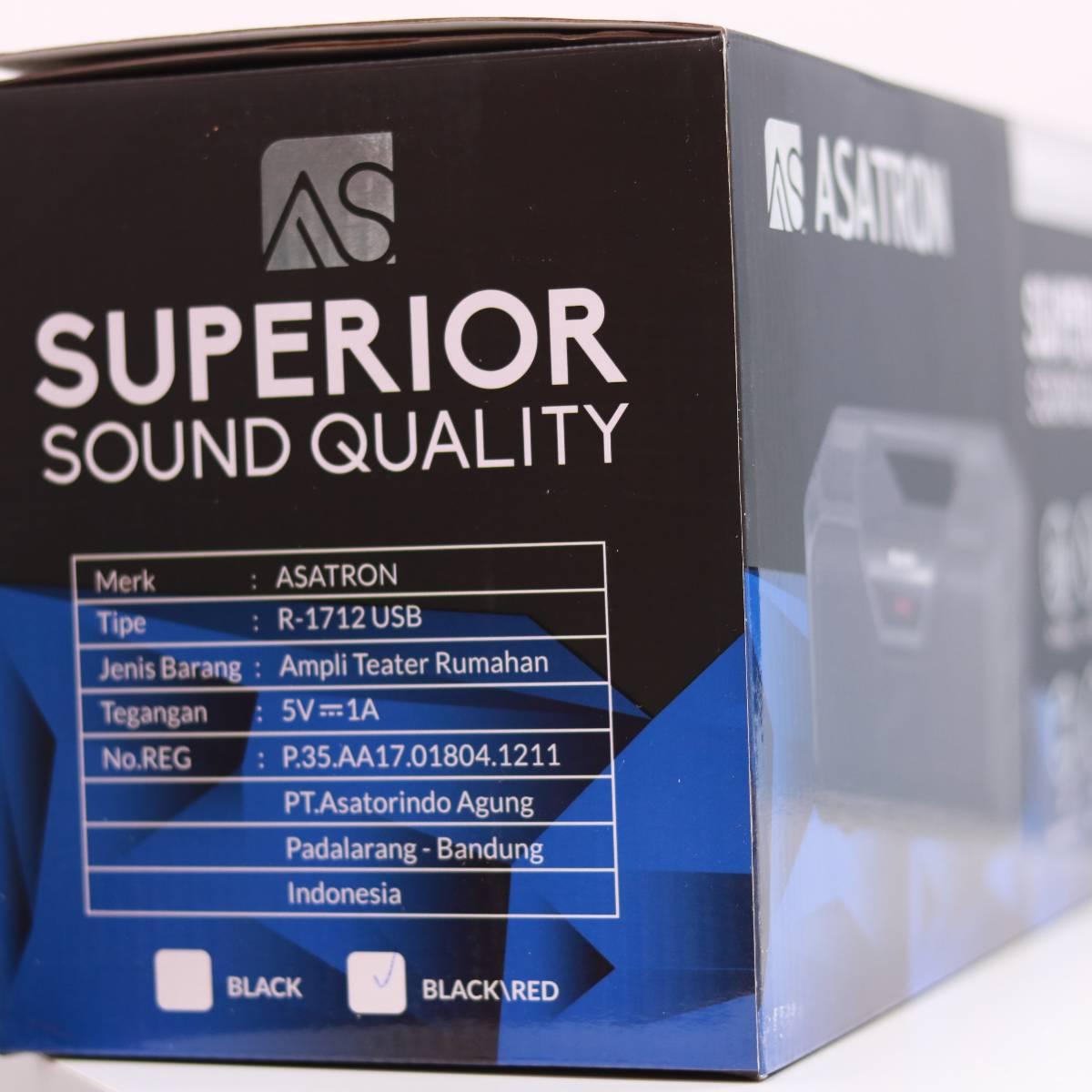 Portable Speaker Asatron R1712 Usb4