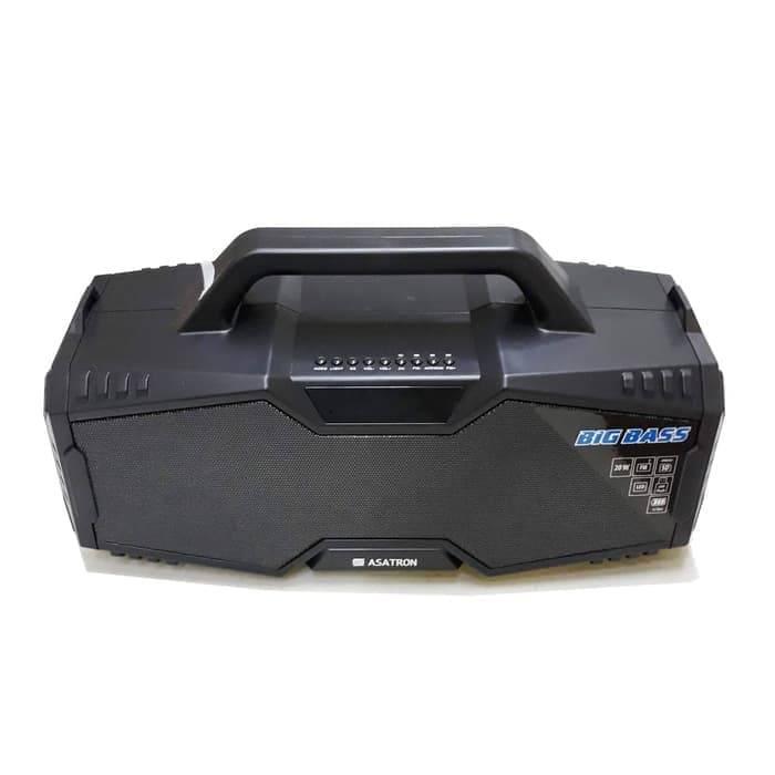 Speaker Bluetooth Asatron R-1718 Usb Stereo.