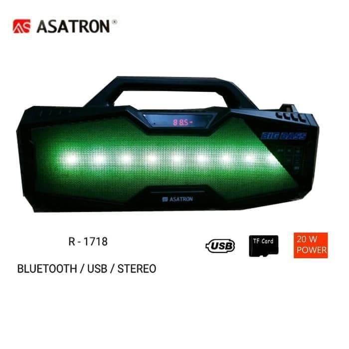 Speaker Bluetooth Asatron R-1718 Usb Stereo.2